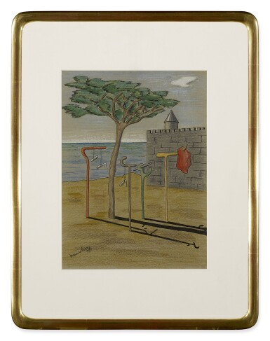 View 2. Thumbnail of Lot 2. MAURICE HENRY | PLAGE SURREALISTE .