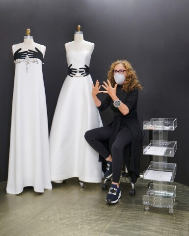 View 7. Thumbnail of Lot 58. A glimpse behind the scenes of the New York Atelier of Reem Acra..