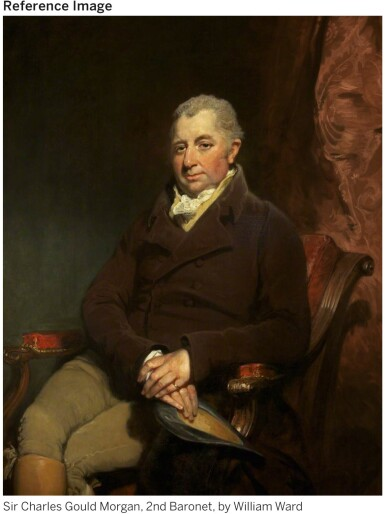 View 2. Thumbnail of Lot 35. A SET OF EIGHTEEN GEORGE III SILVER DINNER PLATES, ROBERT GARRARD, LONDON, 1807.