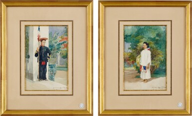 View 2. Thumbnail of Lot 4521. Vietnamese Civil and Military Servants in Indochina | 中南半島之越南公務員及軍隊職員.