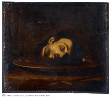 View 5. Thumbnail of Lot 51. JUSEPE DE RIBERA, CALLED SPAGNOLETTO  |  THE SEVERED HEAD OF SAINT JANUARIUS.