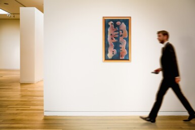View 4. Thumbnail of Lot 57. HAMED ABDALLA | LOVERS (FROM THE SHANDAWILI SERIES)         .