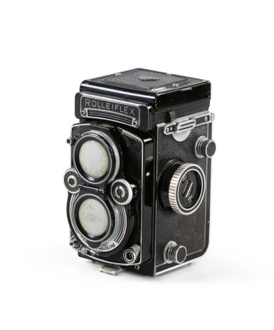 View 2. Thumbnail of Lot 13. Rolleiflex Camera of Paolo Roversi.