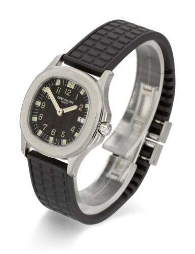 View 2. Thumbnail of Lot 22. PATEK PHILIPPE | AQUANAUT, REFERENCE 4960, STAINLESS STEEL WRISTWATCH WITH DATE, MADE IN 2000.