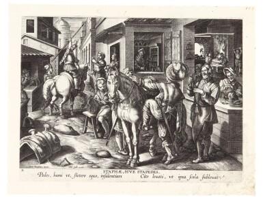 AFTER JAN VAN DER STRAET, CALLED STRADANUS | NEW INVENTIONS OF MODERN TIMES (NOVA REPERTA) (NEW HOLL. 322-341)