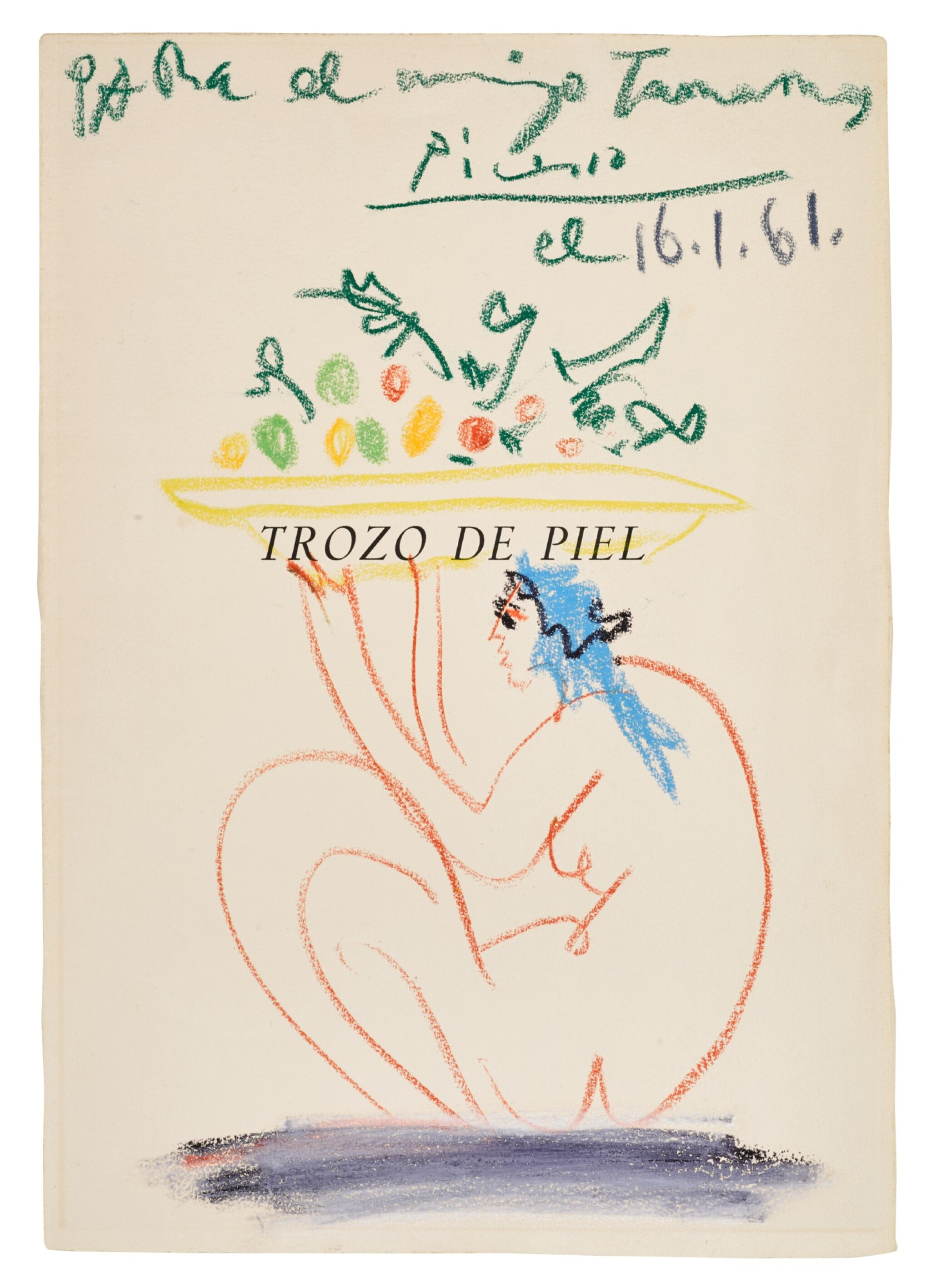 View full screen - View 1 of Lot 2. PABLO PICASSO | SANS TITRE.