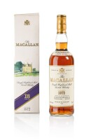 The Macallan 18 Year Old Highland Single Malt 43.0 abv 1972