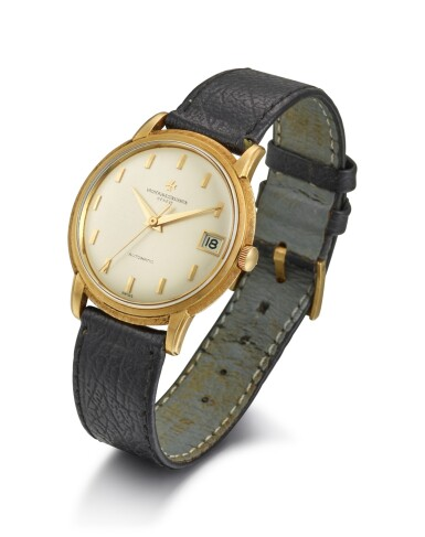 View 2. Thumbnail of Lot 8159. VACHERON CONSTANTIN | REFERENCE 6394, A YELLOW GOLD WRISTWATCH WITH DATE, CIRCA 1960.