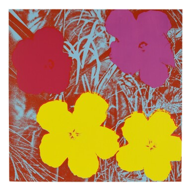 View 9. Thumbnail of Lot 63. ANDY WARHOL | FLOWERS (F. & S. II.64-73).
