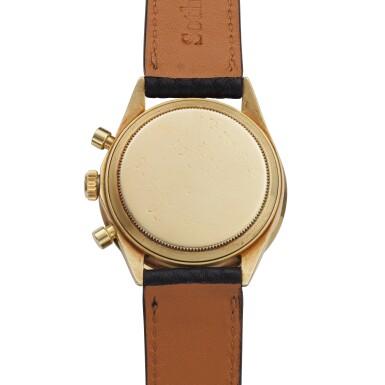 View 5. Thumbnail of Lot 220. Reference 6241 Daytona Paul Newman 'John Player Special'  A yellow gold chronograph wristwatch, Circa 1968.