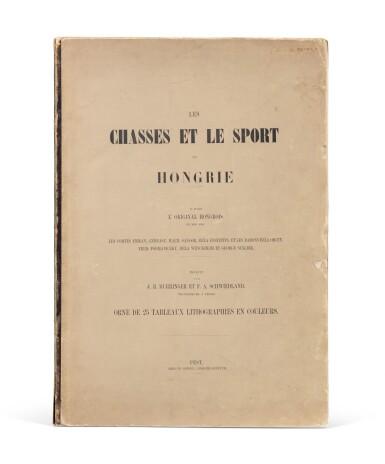 View 3. Thumbnail of Lot 110. Les chasses et le sport en Hongrie. [1857]. In-folio. Rel. de l'éditeur. Edition originale illustrée.