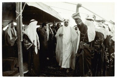 View 4. Thumbnail of Lot 252. Saudi Arabia | Group of photographs and one glass negative. (Includes 2 boxes).