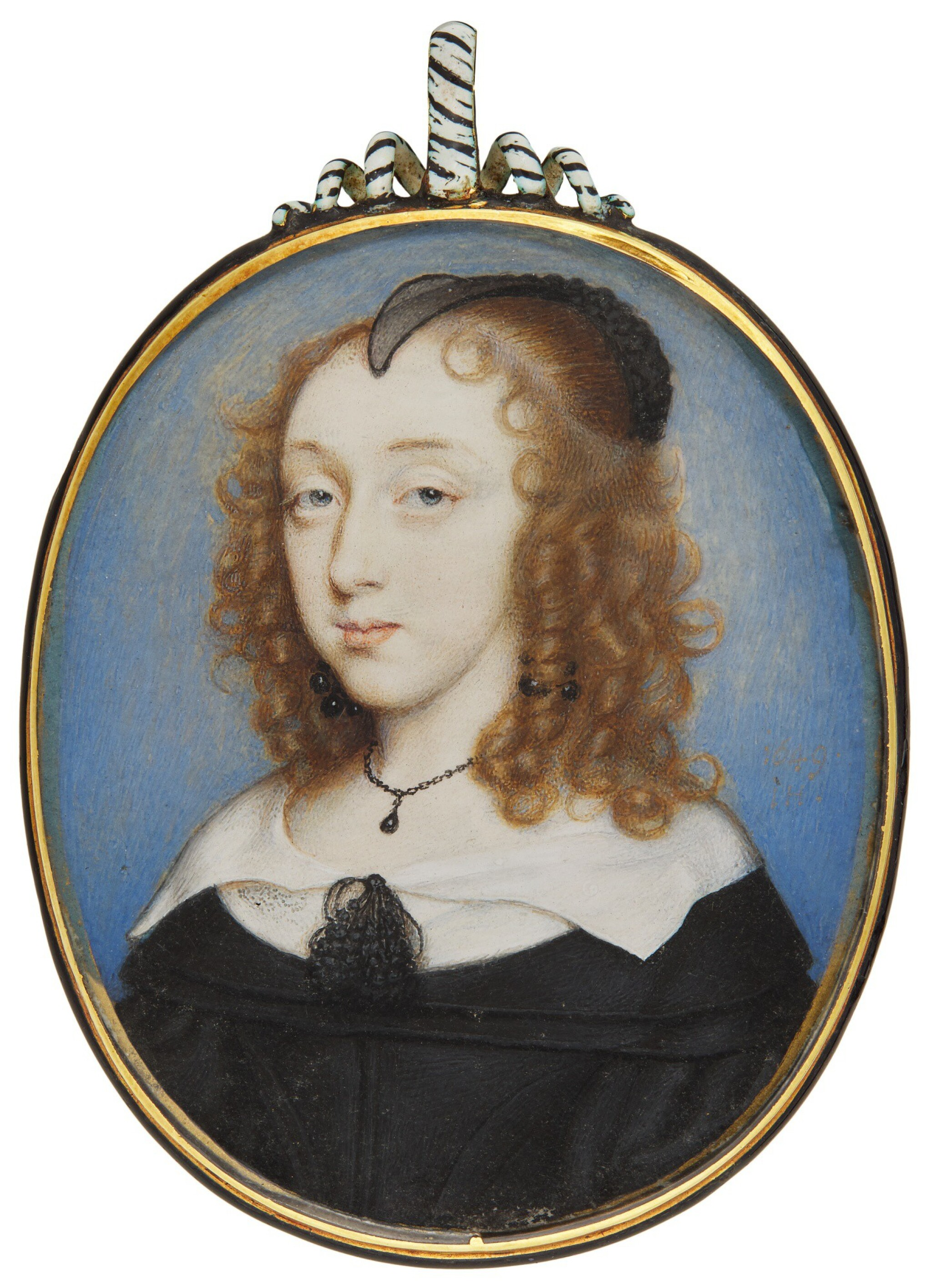 View full screen - View 1 of Lot 214. JOHN HOSKINS | PORTRAIT OF A LADY.