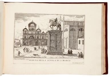 View 2. Thumbnail of Lot 19. CARLEVARIS   Le fabriche e vedute di Venetia, Venice, [1705].