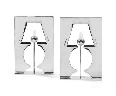HUBERT LE GALL   PAIR OF ILLUSION TABLE LAMPS, DESIGNED IN 1997 [PAIRE DE LAMPES ILLUSION, LE MODÈLE CRÉÉ EN 1997]