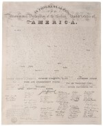 Declaration of Independence | Copied from the original Declaration of Independence in the Department of State