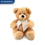STEIFF FOR ROLEX   A POLYESTER TEDDY BEAR, CIRCA 2015   勞力士及 Steiff   小熊玩偶,約2015年製