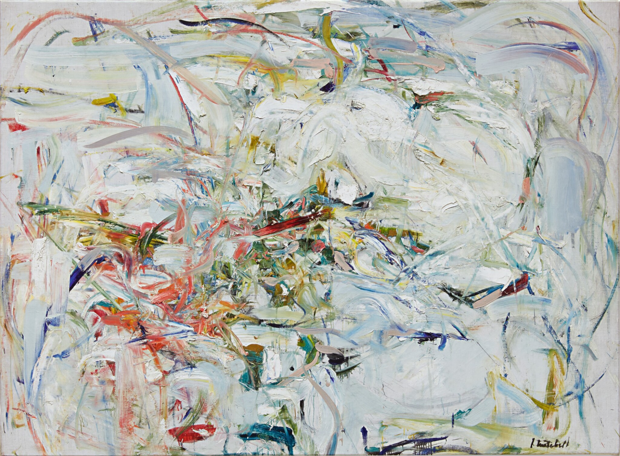 View full screen - View 1 of Lot 3. JOAN MITCHELL | LIENS COLORÉS .