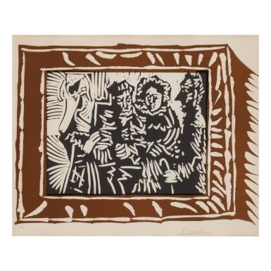 PABLO PICASSO | SCENE FAMILIALE (B. 1146; BA. 1337)