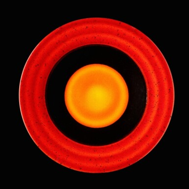 View 7. Thumbnail of Lot 4. Alan Clarke for Poole Pottery, circa 2000   The Planets.