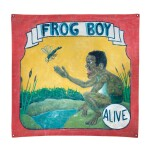 FROG BOY SIDE SHOW PAINTING, EARLY 20TH CENTURY