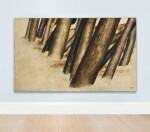 SOHRAB SEPEHRI   UNTITLED (FROM THE TREE TRUNKS SERIES)