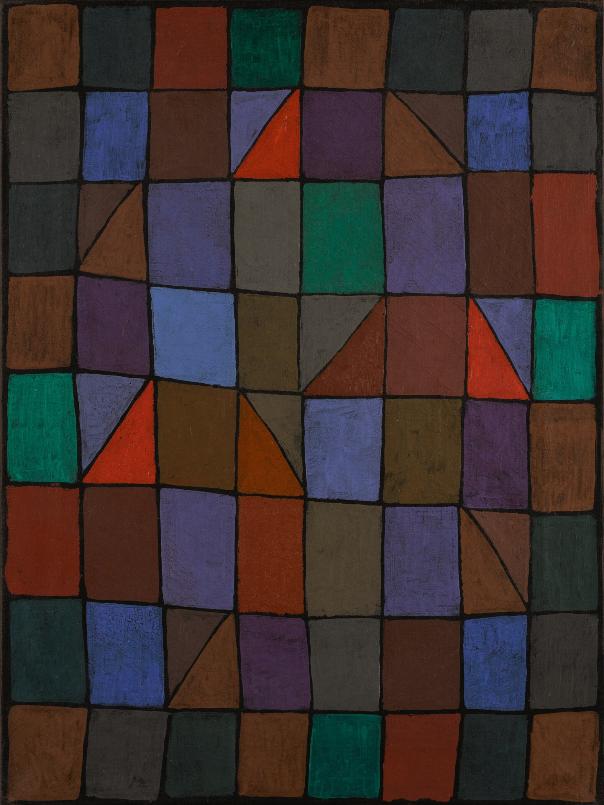 View 1 of Lot 10. PAUL KLEE | ABEND IN N (EVENING IN N) OR ARCHITEKTUR ABENDS (ARCHITECTURE IN THE EVENING).
