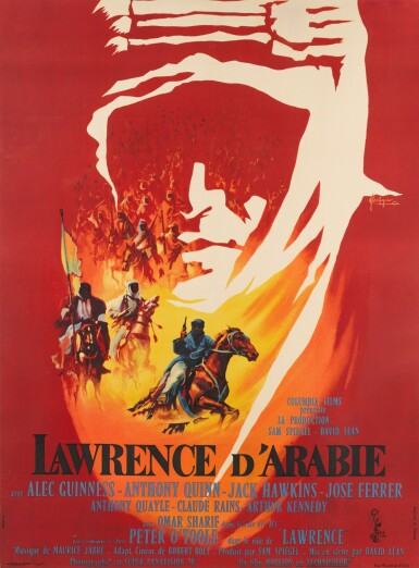LAWRENCE OF ARABIA (1962) POSTER, FRENCH