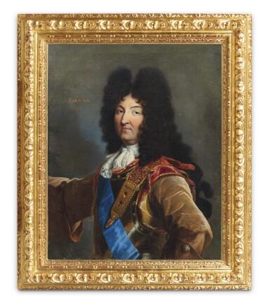View 2. Thumbnail of Lot 158. Portrait of Louis XIV (1638-1715).