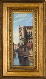 ANTONIETTA BRANDEIS | Along the Canal, Venice