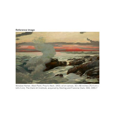 View 4. Thumbnail of Lot 30. GEORGIA O'KEEFFE | NATURE FORMS - GASPÉ.