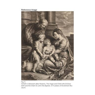 View 6. Thumbnail of Lot 19. SIR PETER PAUL RUBENS | THE VIRGIN AND CHRIST CHILD, WITH SAINTS ELIZABETH AND JOHN THE BAPTIST.