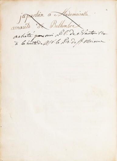 View 4. Thumbnail of Lot 9. La Vie de Saint-Louis. Paris, 1689. Exemplaire de présent aux armes du Régent. Edition originale..