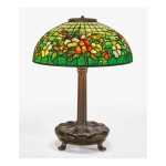 "TIFFANY STUDIOS | ""PANSY"" TABLE LAMP"
