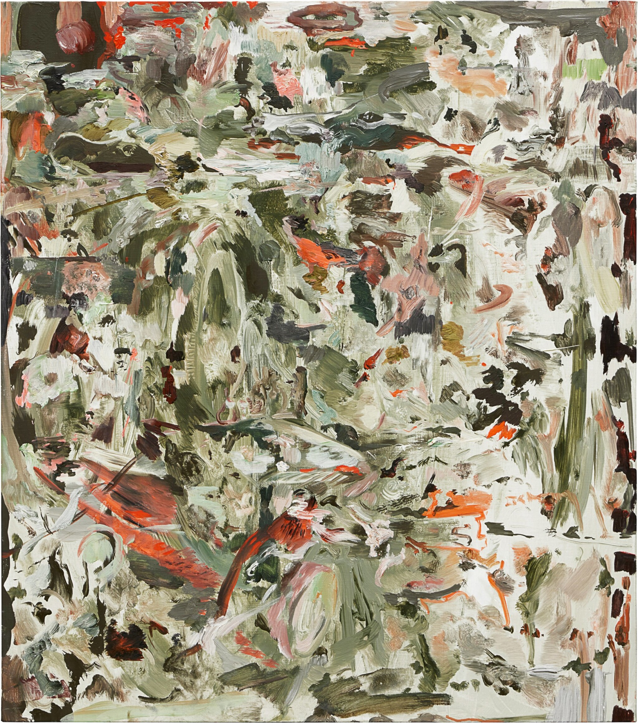 View full screen - View 1 of Lot 515. Cecily Brown 塞西麗・布朗   The Fox and Geese 狐狸和鵝.