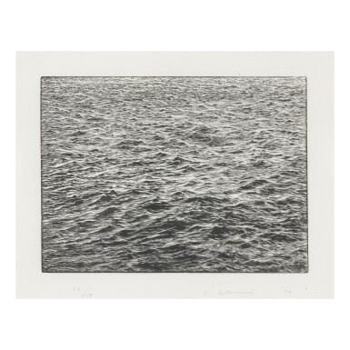 View 1. Thumbnail of Lot 38. VIJA CELMINS |OCEAN SURFACE.