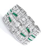 Gattle   Emerald and Diamond Bracelet
