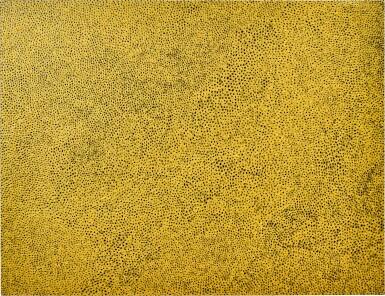 View 1. Thumbnail of Lot 1132. Yayoi Kusama 草間彌生 | Gold-Sky-Nets 黃金天網.