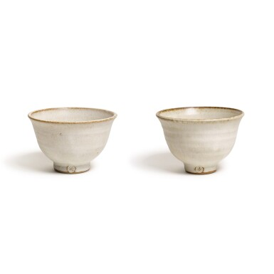 View 1. Thumbnail of Lot 147. Two Footed 'Sweet' Bowls.