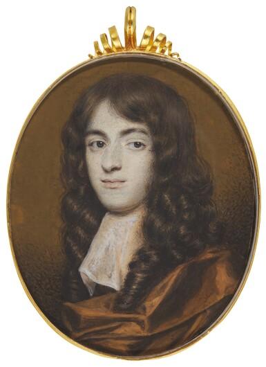 RICHARD GIBSON | PORTRAIT OF A GENTLEMAN, CIRCA 1670