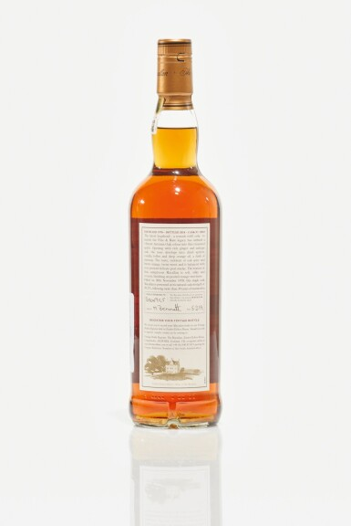 View 2. Thumbnail of Lot 3. The Macallan Fine & Rare 39 Year Old 59.2 abv 1978 (1 BT70cl).