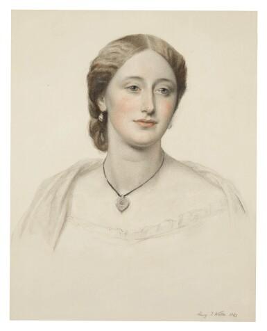 View 3. Thumbnail of Lot 54. Portrait of James Stewart Hodgson; Portrait of Gertrude Agatha Stewart Hodgson.