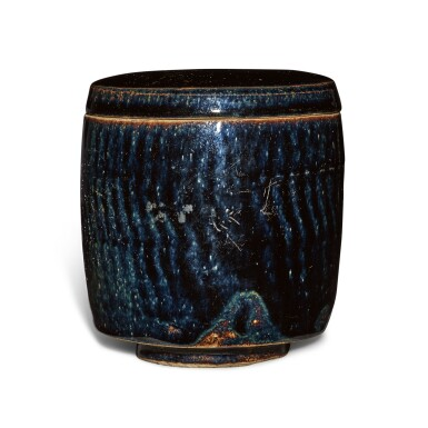 View 2. Thumbnail of Lot 198. A black-glazed cylindrical jar and cover, Northern Song / Jin dynasty | 北宋 / 金 黑釉蓋罐.