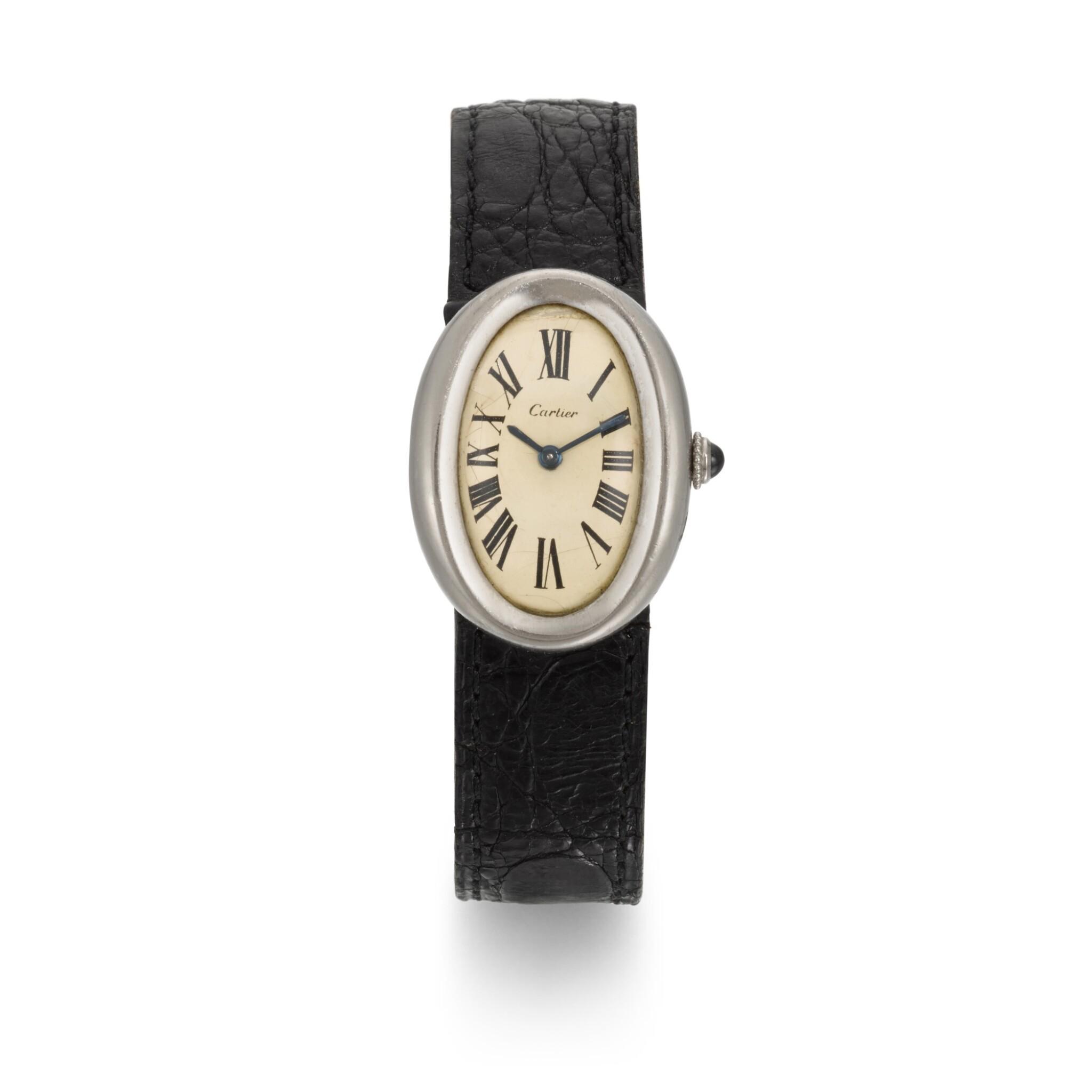 View full screen - View 1 of Lot 41. BRIAN EPSTEIN | Cartier wristwatch, 1966.