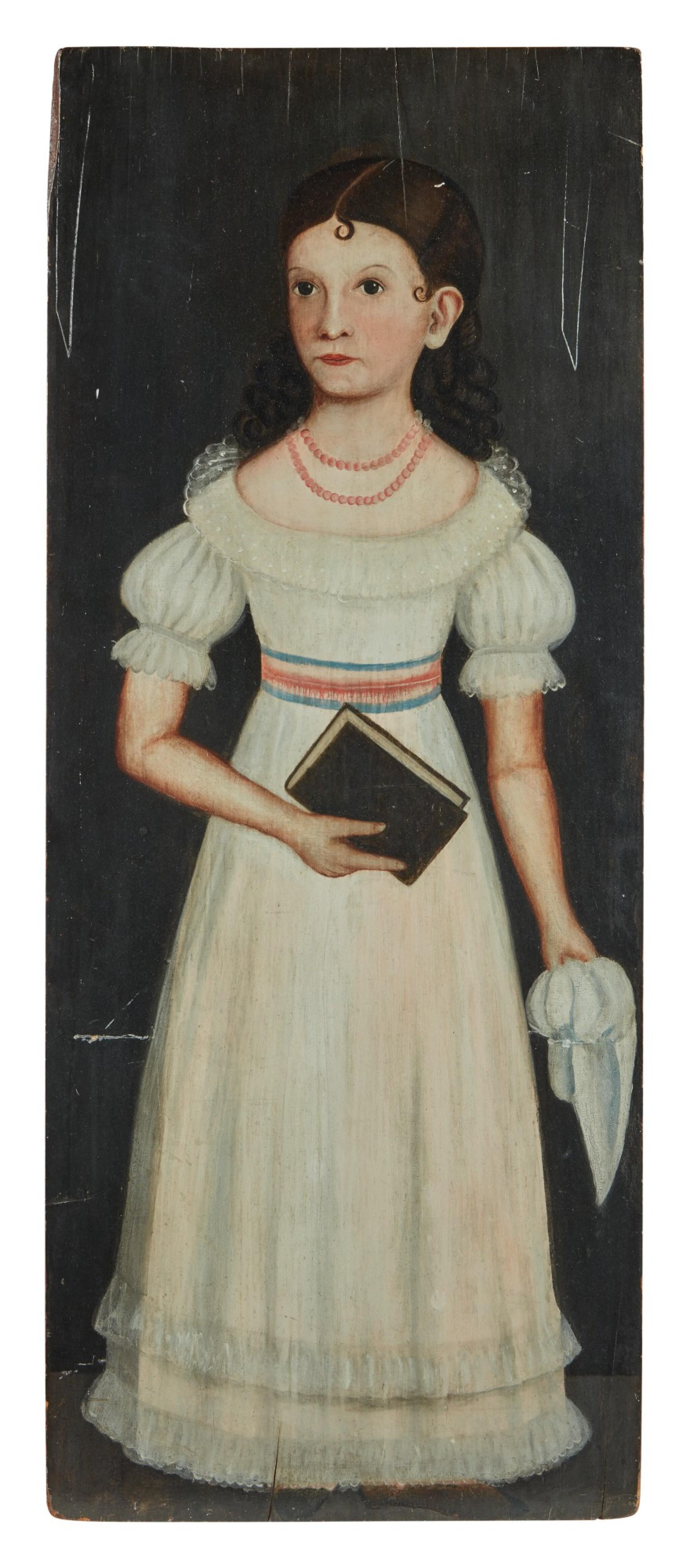 View full screen - View 1 of Lot 355. Portrait of Cornelia Eliza Morse.