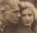 EDWARD STEICHEN | MR. AND MRS. -- THE SANDBURGS, ELMHURST, ILLINOIS