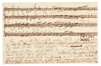 View 5. Thumbnail of Lot 35. Clara Schumann. 215 unpublished letters to the composer and environmentalist Ernst Rudorff, with his replies, 1858-1896.