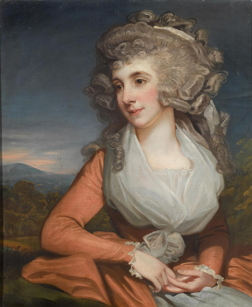 MATHER BROWN | A portrait of Mrs Mary Livius (1757-1837)