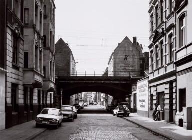 View 4. Thumbnail of Lot 36. 'Clinton Road', Murdock Cottages, London, 1977; 'Panorama 2', Beaugrenelle, Paris, 1979; 'Gereonswall', Koln, 1980; 'Calle Tintoretto', Venezia, 1990.