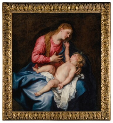 View 2. Thumbnail of Lot 539. The Virgin and Child.